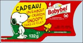 Snoopy - Embouts-crayon - Babybel - 2000