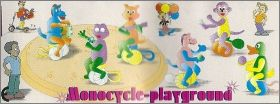 Monocycle playground - Marajà - TMON1-1 à TMON1-6