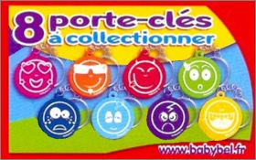 Smiley - Porte-clés - Babybel