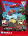 Cars 2 - Buildable figures - Gacha Tomy.