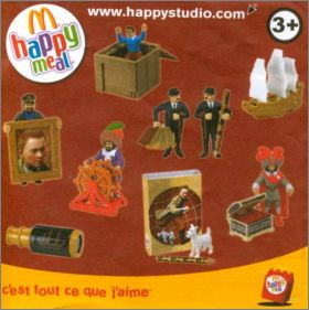 Tintin - Happy Meal - Mc Donald - 2011