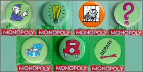 Monopoly 2011- Badges - Mc Donald
