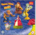 La Belle et la Bête 2  Disney - Happy Meal - Mc Donald  1998