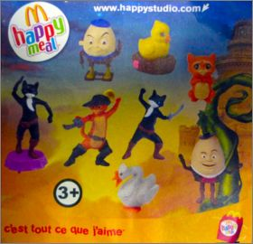 Le Chat Potté - Happy Meal - Mc Donald - 2011