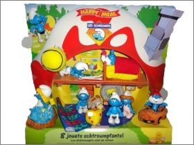 Schtroumpfs - Happy meal - Mc Donald