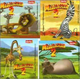 Madagascar 2 - Magnets Knacki de Herta