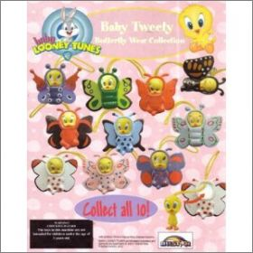 Baby Tweety Butterfly Wear Collection - Figurine