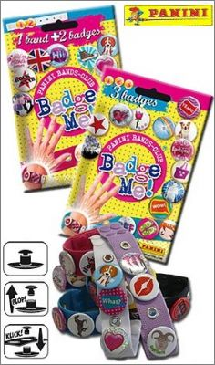 Badge Me ! - Panini Bands-Club
