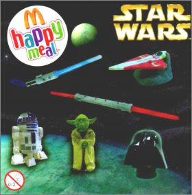 Star wars - Happy meal - Mc Donald 2009