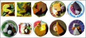 Nos bons fromages de France - F�ves 2009